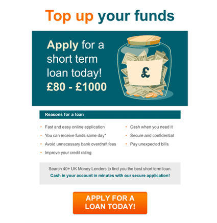 Top Up Your Funds